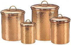 hammeredcoppercanisters